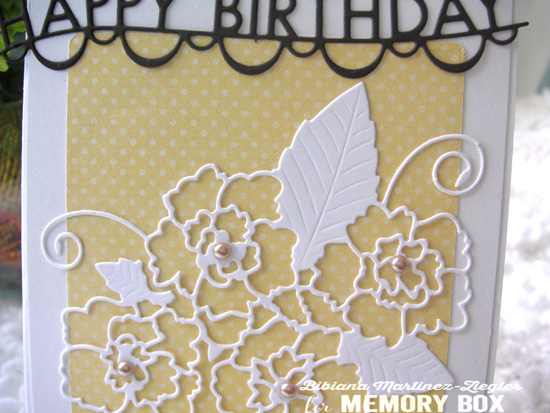 H'B'day yellow detail