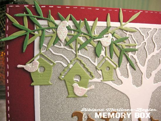 Xmas oak detail