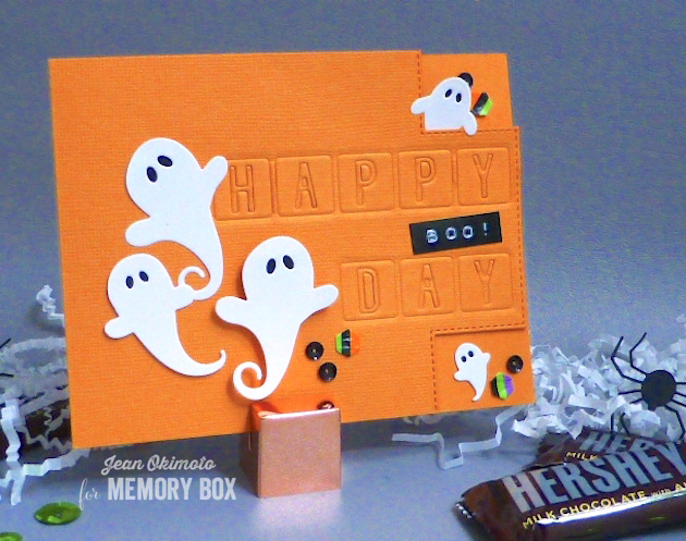 MemoryBoxSwirlingGhosts-MemoryBoxSquareBumpBorders-MemroyBoxHappyBirthdayTiles-MemoryBoxHoneycombBackground-JeanOkimoto-WashiTapeDiecuts