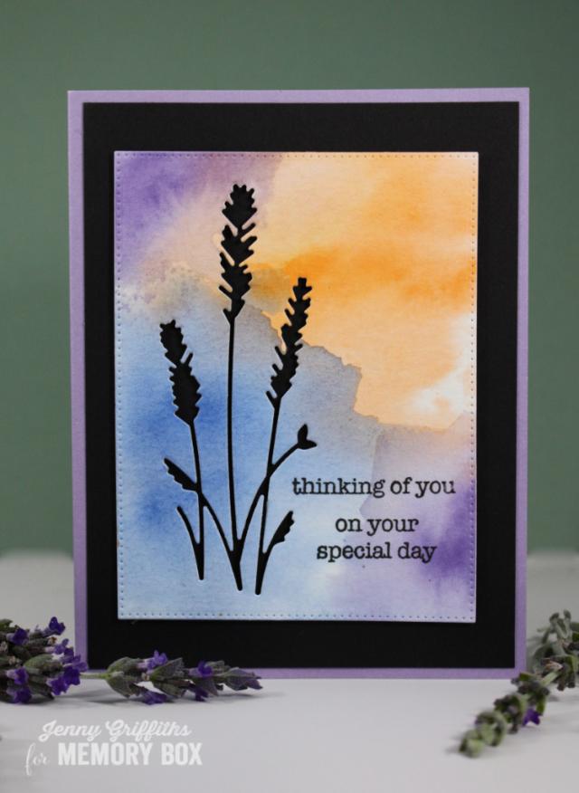 Lavender Silhouette