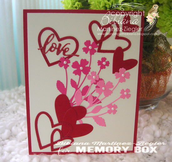 Val pink bouquet front
