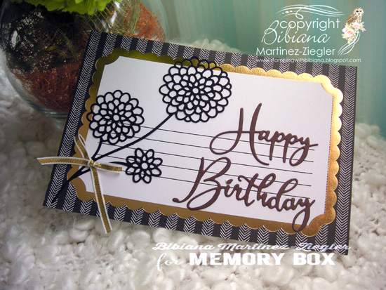 H'bday gift tag front