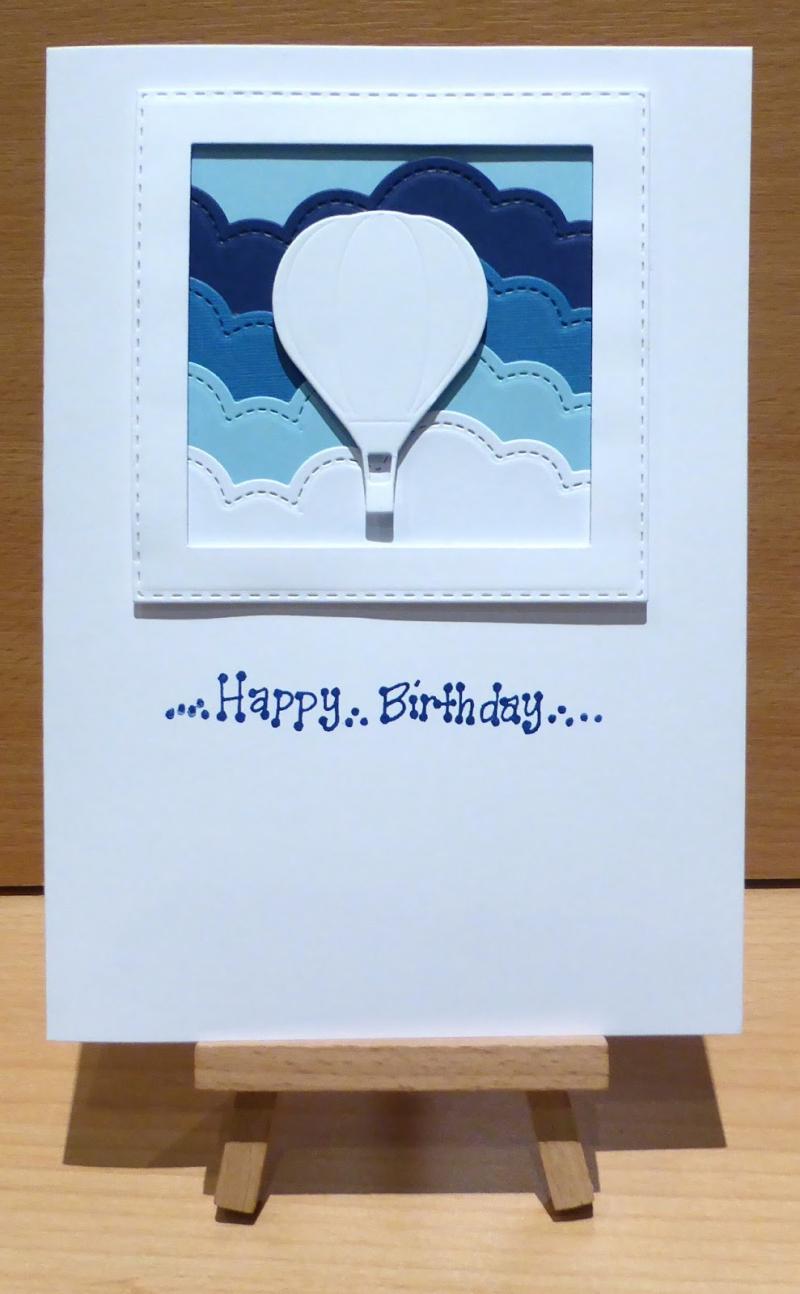 Ombre balloon