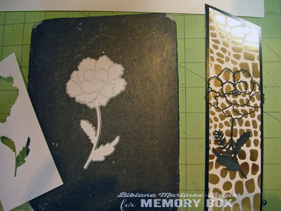 Bookmark flower die