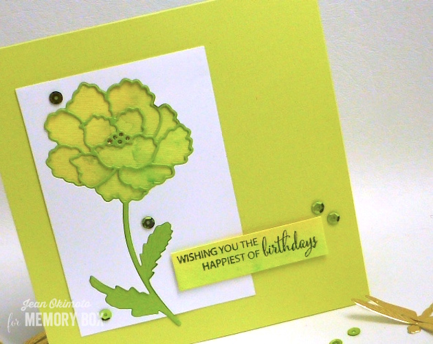 Watching the World Bloom clear stamp set