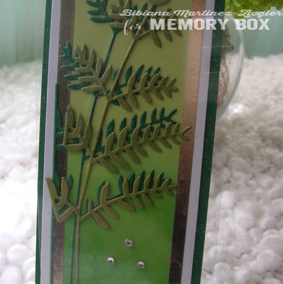 Bookmark st patricks detail leaves