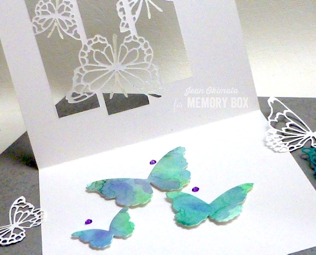 MemoryBoxButterflySpectacle-MemoryBoxButterflyEnsemble-JeanOkimoto-WatercoloredButterflies-WatercoloredButterlyCards-MemoryBoxButterflyCraftDies