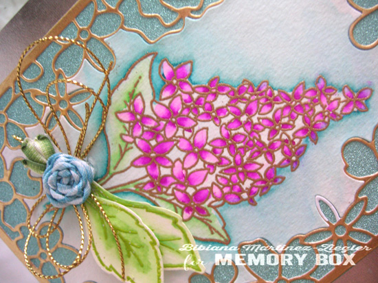 Lilac mother day detail