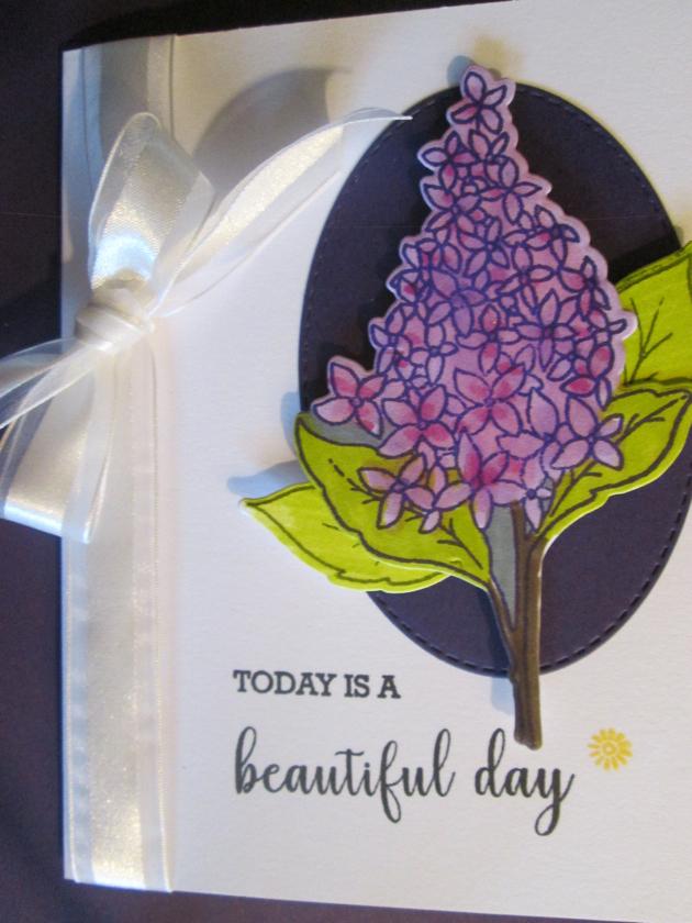 Spring Lilacs Die Set