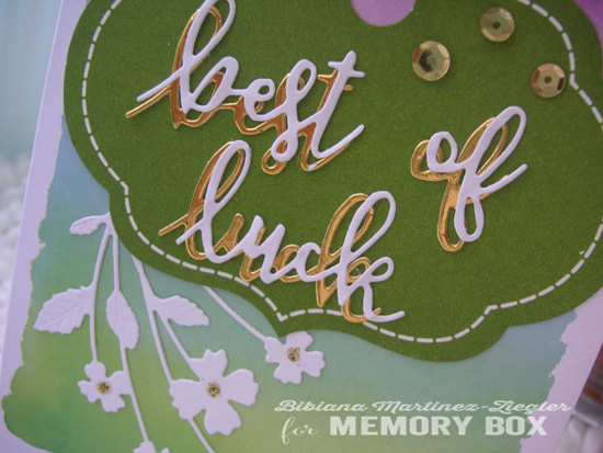Luck pastels detail