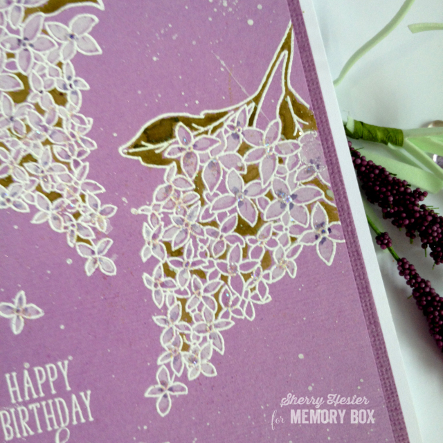 Happy Birthday Wishes with Spring Lilacs - 2