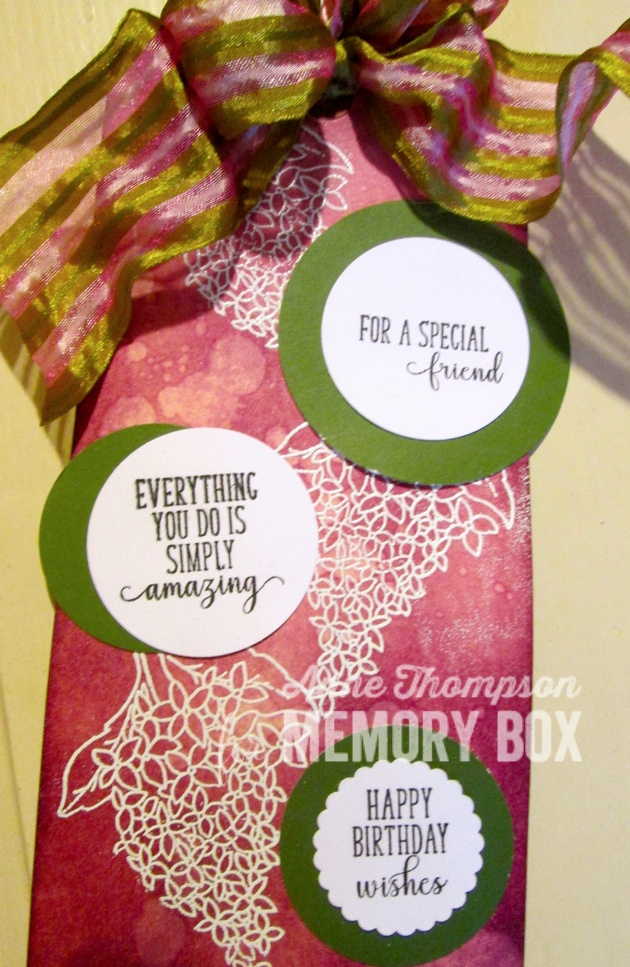 Spring Lilacs clear stamp set