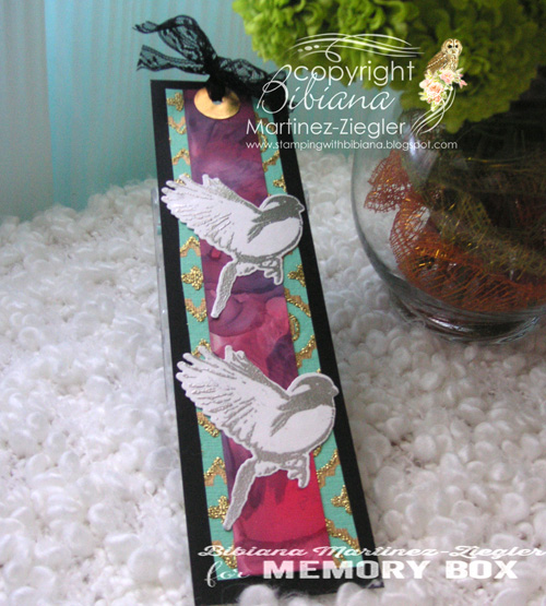 Bookmark bird front