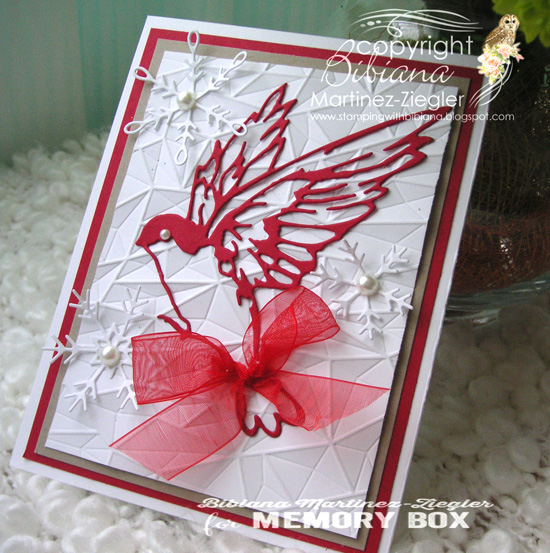 Xmas red bird last