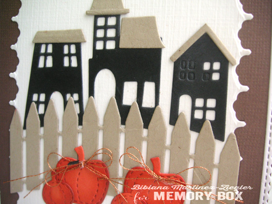 Halloween trio houses detail