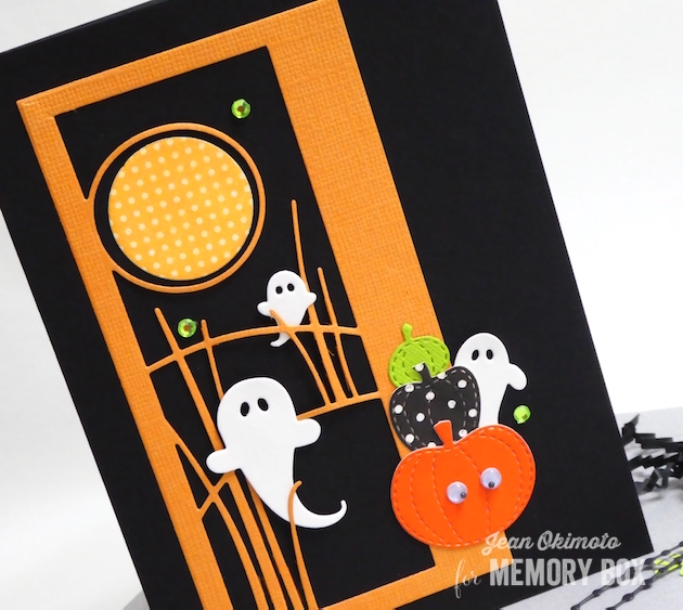 MemoryBoxSwirlingGhosts-MemoryBoxGrasslandCollage-MemoryBoxRectangleBasics-MemoryBoxStitchedFarmPumpkins-MemoryBoxCircleBasics-JeanOkimoto-MemoryBoxHalloweenCards-HalloweenCardsWithDiecuts-PumpkinCards