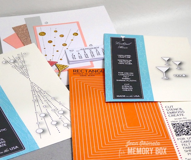 MemoryBoxBubbleBurst-MemoryBoxRectangleBasics-MemoryBoxCocktailHour-JeanOkimoto