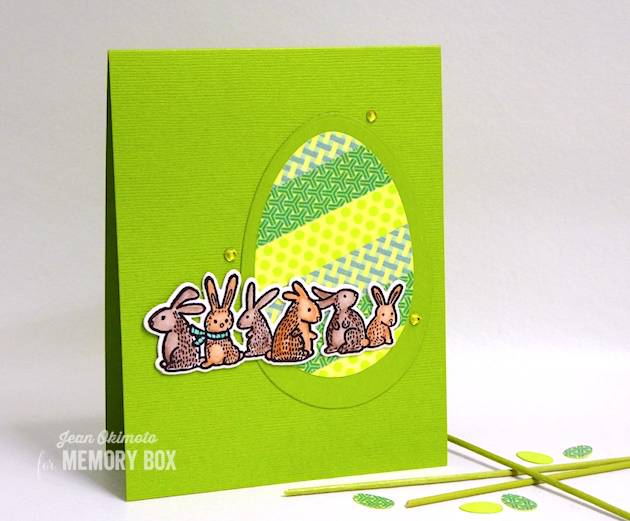 Spring Bunnies clear stamp set