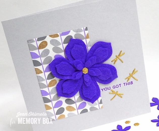 MemoryBoxPlushNarrowSucculent-MemoryBoxLittleDragonflies-MemoryBoxRectangleBasics-MemoryBoxHoneycombSquare-BirchPressDesignTimeToCelebrate-JeanOkimoto-FeltFlowerDiecuts-FeltFlowerCards