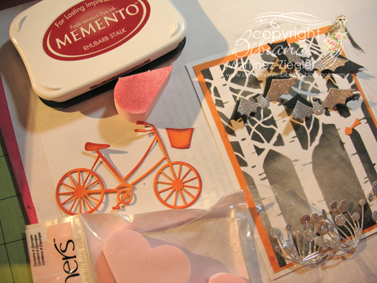 Halloween bicyle memento