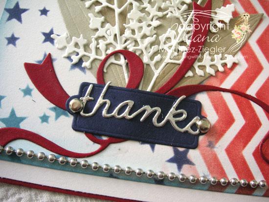Bouquet for veterans sentiment
