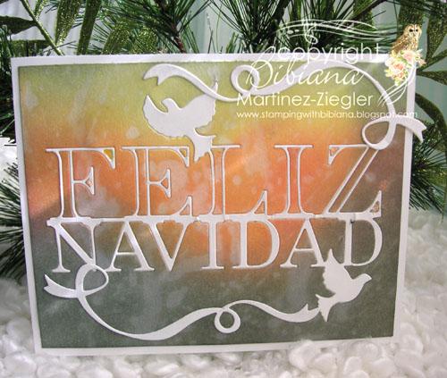 Feliz navidad inks bckg last