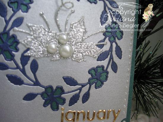 Jan 1st wreath detail