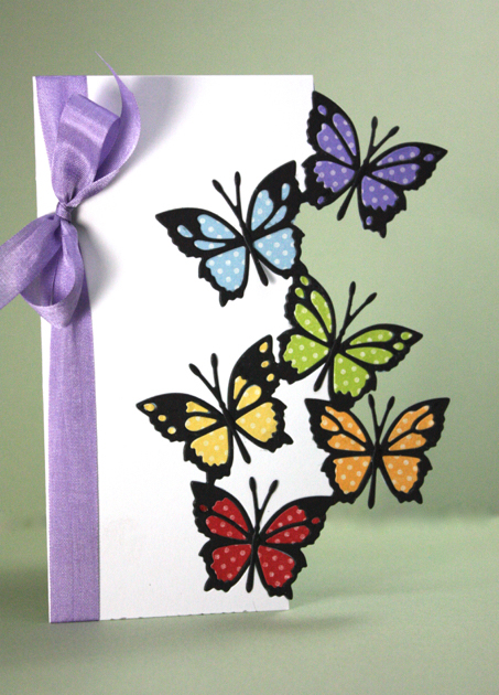 Fairyland Butterflies-cut edge