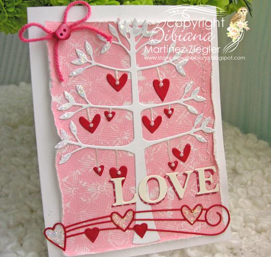 Love tree hearts last