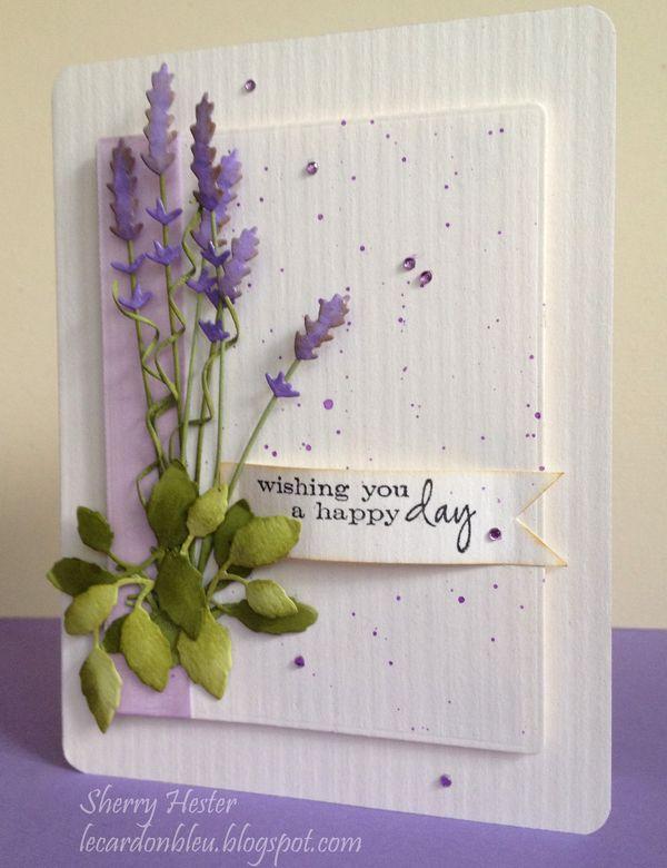 Lavender Card - 2