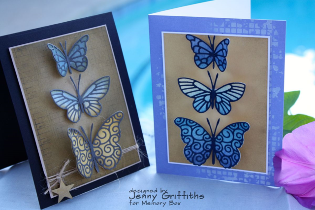 Butterfly Cards-His & Hers