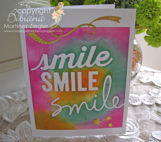 Smile last