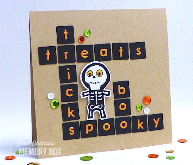 MemoryBoxModernTileBackground-MemoryBoxAlphabetSoup-OpenStudioHalloweenSideshow-JeanOkimoto-ImagineCrafts-Halloween-ImpressCardsAndCrafts