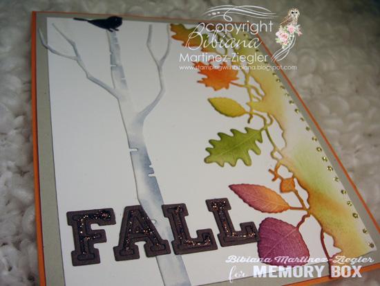 Fall birch flat