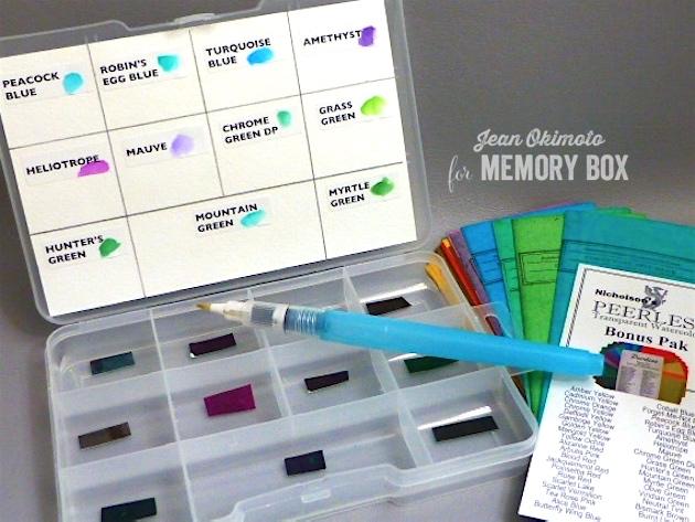 PeerlessWatercolors-JeanOkimoto-MemoryBox