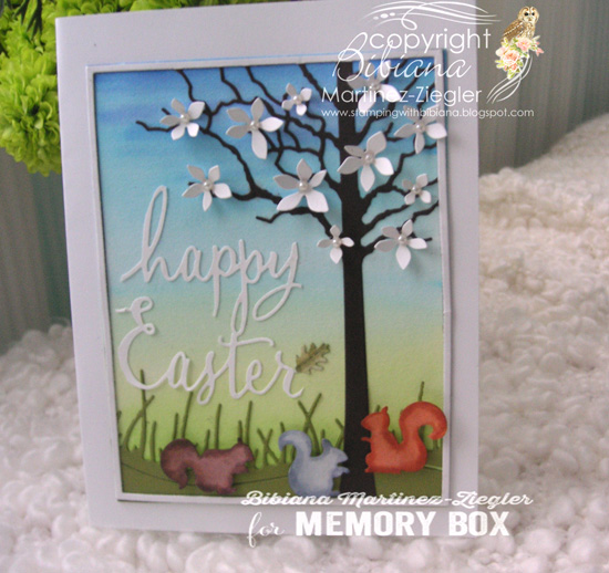 Easter scene side