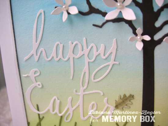 Easter scene detail words