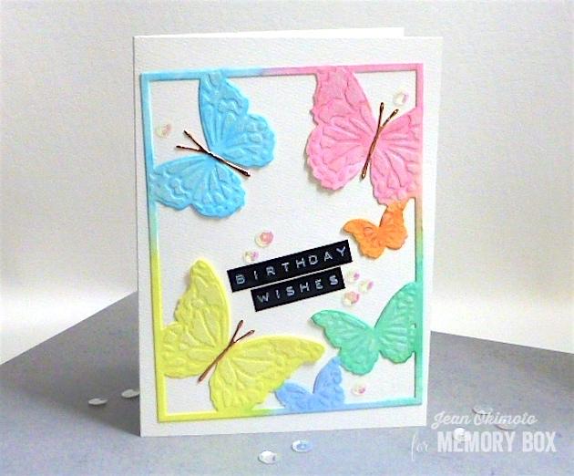 MemoryBoxHoveringButterflyFrame-MemoryBoxFairylandButterflies-JeanOkimoto-PeerlessWatercolors
