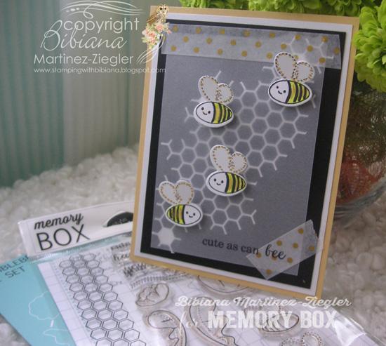 Bee vellum front