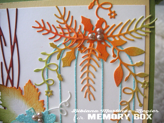 Fall bird cage detail