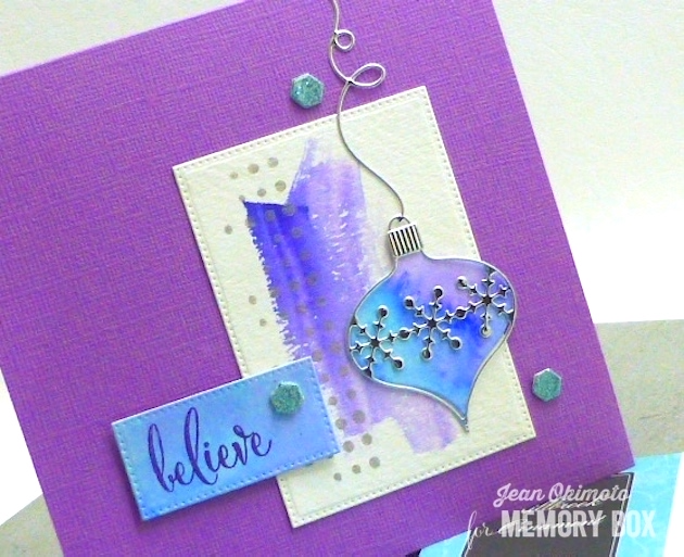 MemoryBoxMillbrookOrnament-MemoryBoxClassicOrnament-MemoryBoxHoneycombBackground-MemoryBoxOpenStudioPinpointRectangleLayers-MemoryBoxOpenStudioMakingSpiritsBrightStamps-JeanOkimoto-ImagineCraftsDelicata
