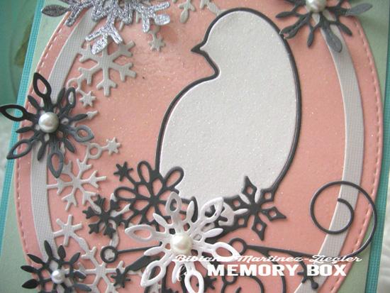 Pastel bird detail