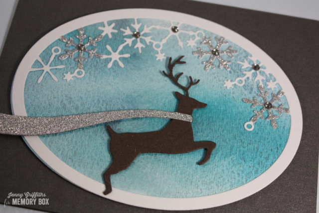Winter Reindeer detail