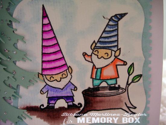 Xmas gnomes detail