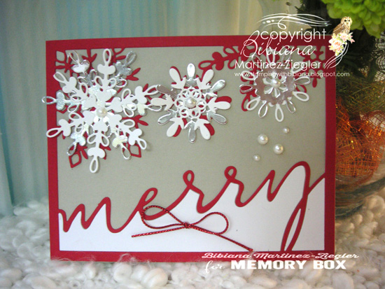 Xmas merry red front 1