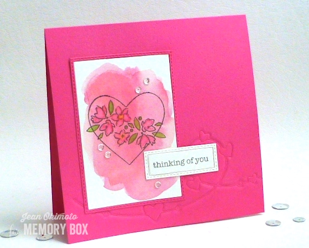 MemoryBoxHeartWire-MemoryBoxSoManyThingsToLove-MemoryBoxStitchedRectangleTrimmings-JeanOkimoto-ImagineCrafts-PeerlessWatercolors-ImpressCardsAndCrafts-WatercoloredHeartCards