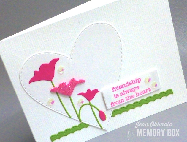 MemoryBoxTallLeftPoppyCorner-MemoryBoxSoManyThingsToLoveStampSet-MemoryBoxOpenStudioStitchedHeartLayers-MemoryBoxOpenStudioStitchedCountryBorders-MemoryBoxRectangleBasics-JeanOkimoto-ImagineCrafts-RadiantNeons-DiecutValentines-FriendshipCards-ImpressCardsAndCrafts