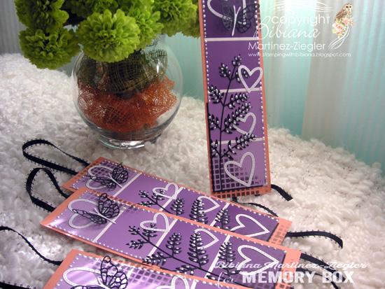 Bookmark purple group