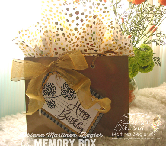H'b day gift tag package front
