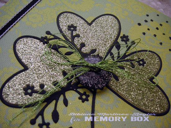 St patrick flower hearts detail hearts